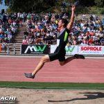 Daniel Pineda logra medalla de plata en nueva fecha del circuito Grand Prix Sudamericano de Atletismo