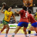Chile cayó ante Brasil en el Panamericano Juvenil Femenino de Handball