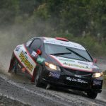Ingo Hofmann ganó la categoría R3 en primer día del Rally Mobil en Puerto Montt