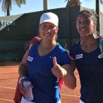 Daniela Seguel cayó en la primera ronda de dobles del WTA de Bucarest