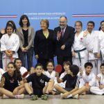 Presidenta de la República anunció medidas para masificar y desarrollar el deporte