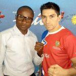 Boxeadores chilenos vieron acción en combates realizados en Namibia y USA