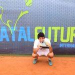 Christian Garín se coronó campeón del Futuro 4 de Brasil