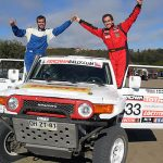 Juan Pablo Latrach ganó la primera fecha del Cross Country Atacama Rally
