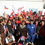 Deportistas nacionales realizaron entrega de ayuda a damnificados de Valparaíso
