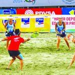 Tenis Playa le entregó dos medallas de bronce a Chile en los Juegos Sudamericanos de Playa