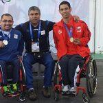 Medallas y récords parapanamericanos lograron las pesas chilenas en primera jornada de torneo colombiano