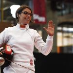Caterin Bravo logra su paso a la ronda de 64 mejores en el Mundial de Esgrima
