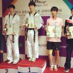 Camilo Pérez obtuvo medalla de bronce en el Korea Open de Taekwondo