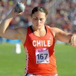 Natalia Ducó e Iván López lideran la delegación chilena que participará en el Iberoamericano de Atletismo