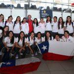 Selección Chilena de Fútbol Femenino viajó a Ecuador para participar en la Copa América