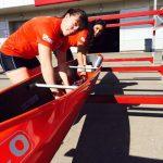 Diana Paillalef y María José Mailliard clasificaron a la final de C2 500 metros en el Mundial de Canotaje