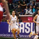 Chile debutó con un triunfo en el Sudamericano Femenino Adulto de Básquetbol