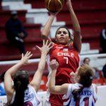 Chile logró un gran triunfo ante Paraguay y clasifica al Pre-Olímpico de Básquetbol Femenino
