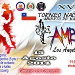 """Los Ángeles recibe este 15 de agosto el XV Torneo Nacional abierto de Karate """"Copa Los Ángeles"""""""
