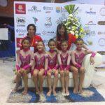 Nuevas medallas sumó Chile en la categoría pre infantil del Sudamericano de Gimnasia Rítmica