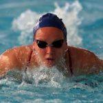 Kristel Köbrich logra medalla de plata en el Sudamericano de Natación