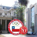 Comité Olímpico de Chile celebrará sus 80 años con una Gala Olímpica
