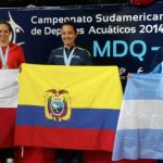 Kristel Köbrich sumó su tercera medalla de plata en el Sudamericano de Natación