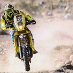 Claudio Rodríguez se quedó con la última fecha en motos del Atacama Rally