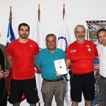 Federación de Handball recibió software deportivo de parte del COCh