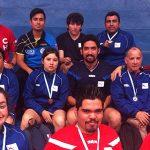 14 medallas logró Chile en la Copa Tango de Tenis de Mesa paralímpico