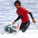 Roberto Araki se instaló en semifinales de la última fecha del Latinoamericano de Surf