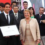 Felipe Miranda recibió el Premio Nacional de Deporte 2013