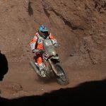 Pablo Quintanilla se mantiene en el cuarto lugar de la General en motos del Dakar