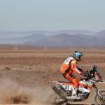 Pablo Quintanilla repite el tercer lugar en la quinta etapa del Dakar 2015