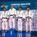 Thomás Briceño obtuvo medalla de bronce en la fecha bulgara del European Tour de Judo