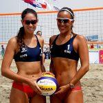 Duplas chilenas alcanzaron cuartos de final en quinta fecha del Circuito Sudamericano Volley Playa