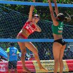Sin duplas nacionales se quedó la séptima fecha del Circuito Sudamericano Volleyball Playa