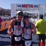 Felipe Van de Wyngard y Pamela Tastets ganaron el Triatlón Nacional Olímpico Valparaíso 2015