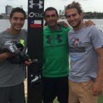 Los hermanos Miranda y Emile Ritter clasificaron a la final de salto en Perth