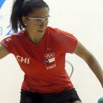 Carla Muñoz cayó en cuartos de final del Mundial de Racquetball