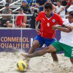 Chile derrota a Bolivia y mantiene opciones de clasificar al Mundial de Fútbol Playa
