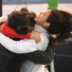 Alejandra Flores destacó en la competencia de florete del Panamericano de Esgrima