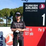Nicolás Geyger disputará esta semana el Turkish Airlines Challenge