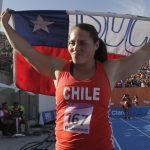 Natalia Ducó clasificó a la final del lanzamiento de la bala en el Mundial de Atletismo
