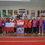 Chile obtuvo el quinto lugar en el Sudamericano de Wushu