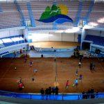 Gimnasio La Tortuga inauguró cancha de arcilla para duelo de Copa Davis