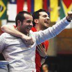 Equipo chileno de sable masculino clasificó a los Juegos Panamericanos