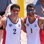 Primos Grimalt avanzan a cuartos de final del volleyball playa panamericano