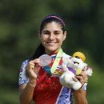 María José Moya gana medalla de bronce en los 200 metros contrarreloj en Toronto