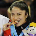 Daniela Lepín ganó la tercera medalla para el karate chileno en Toronto