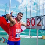 Humberto Mansilla logra medalla de oro para Chile en el Panamericano Juvenil de Atletismo
