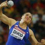 Natalia Ducó terminó en el noveno lugar del lanzamiento de la bala en el Mundial de Atletismo
