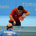 Tenis de mesa entrega tres medallas para Chile en los Juegos Parapanamericanos