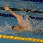 Alberto Abarza finalizó en el octavo lugar de la final 50 metros espalda en Toronto